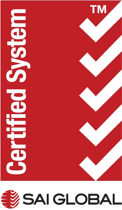 Image: The ISO 9001 Quality RED logo